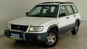 1997 Subaru Forester 79V GX AWD White 5 Speed Manual Wagon Hobart CBD Hobart City Preview