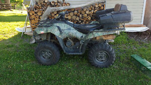 Well maintained, 2005 Kawasaki Brute Force 750