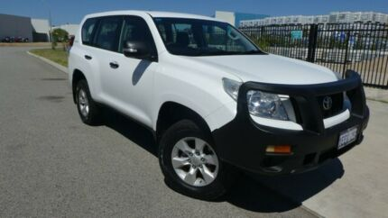 2012 Toyota Landcruiser Prado KDJ150R GX Glacier White 5 Speed Sports Automatic Wagon Bassendean Bassendean Area Preview