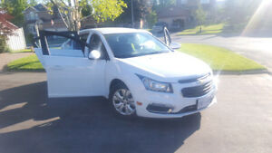Brand New Chevrolet Cruze lt- Backup camera, Bluetooth and more