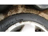 Avon Turbogrip CR25 Mud /Snow tyres, 195 /60 R14