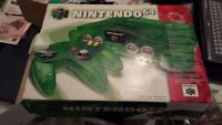 Jungle Green N64 complete in box 8/10 condition near mint