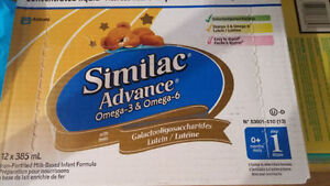 Never opened Similac Concentrate Milk $37.5 Each