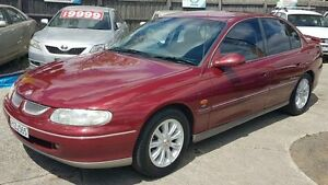 1999 Holden Calais VT Burgundy 4 Speed Automatic Sedan Maidstone Maribyrnong Area Preview