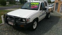2002 Toyota Hilux SR White 5 SPEED Manual Cab Chassis Deagon Brisbane North East Preview