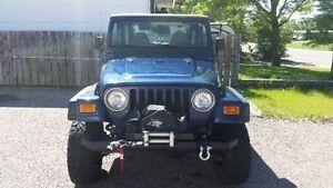 2002 Jeep TJ se Coupe (2 door)