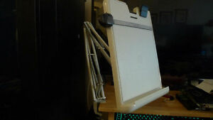 Document Holder Stand Adjustable with Swing arm & Desk Clamp .