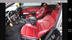 Looking for E46 Red Leather Interior
