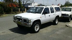 1994 Nissan Navara D21 DX White 5 Speed Manual Utility Victoria Park Victoria Park Area Preview