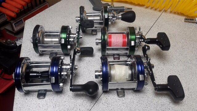 Abu fishing reels for sale in fareham hampshire gumtree for Used fishing reels for sale