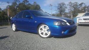 2007 Ford Falcon BF Mk II XR6 Turbo Blue 6 Speed Sports Automatic Sedan