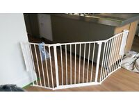 Babydan Configure barrier/room divider with safety gate