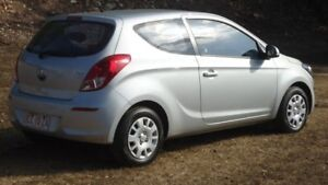 2015 Hyundai i20 PB MY16 Active Silver 4 Speed Automatic Hatchback
