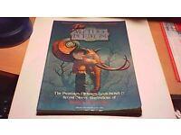 MYTHOPOEIKON BOOK BY PATRICK WOODROFFE RARE 1976 BOOK-ALBUM COVERS ETC.