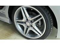 """SET OF 4 X MERCEDES 18"""" AMG STYLE ALLOY WHEELS5X112 BRAND NEW BOXED"""