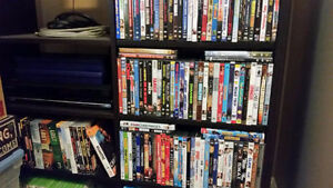 300+ DVDs, T.V Series, Music DVDs & Xbox Games For Sale