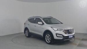 2013 Hyundai Santa Fe DM Elite CRDi (4x4) Sleek Silver 6 Speed Automatic Wagon Perth Airport Belmont Area Preview