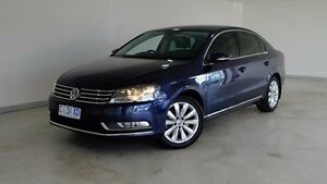 2012 Volkswagen Passat Type 3C MY12.5 118TSI DSG Blue 7 Speed Sports Automatic Dual Clutch Sedan Hobart CBD Hobart City Preview