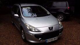 Peugeot 307 1.6s HDI estate 2006 Full years MOT good runner full service history