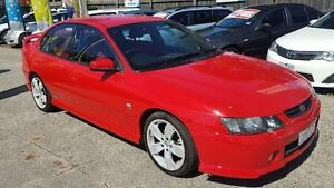 2004 Holden Commodore VY II SS Red 4 Speed Automatic Sedan Maidstone Maribyrnong Area Preview