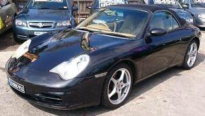 2002 Porsche 911 996 Carrera Black 5 Speed Tiptronic Cabriolet Maidstone Maribyrnong Area Preview