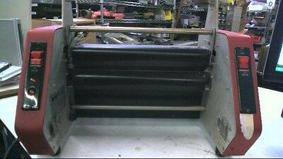 Laminex Av-444 12 Commercial Heated Table Top Laminator 220v With Uk Plug