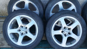 "Nissan Infinity 17"" alloys 215/55R17 tires $500 obo."
