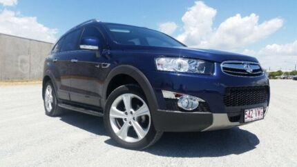 2012 Holden Captiva CG SERIES II 7 LX Midnight Blue 6 Speed Automatic Wagon Garbutt Townsville City Preview