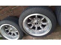 Classic mini Mini minilight ultralight wheels ..tyres