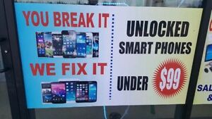 GRAND OPENINIG CELL PHONE REPAIR & UNLOCKING