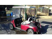 EZGO Golf Buggy - Four wheel - 2 person