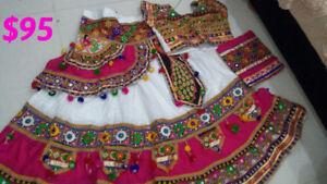 Gujarati Chaniya Cholis (3 piece Indian dresses)