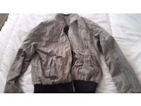 Mens 2 in one other side is black rockport jacket
