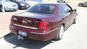 2003 Holden Caprice WK Red 4 Speed Automatic Sedan Victoria Park Victoria Park Area Preview