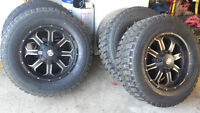 FRD OFFROAD HD Series Rims & QR900-M/T Rubber 4 Sale