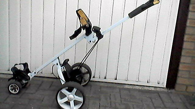 power caddy touch electric gol trolley for spares or repair,requires new  controller  | in Stockton-on-Tees, County Durham | Gumtree