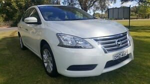 2013 Nissan Pulsar B17 ST White Continuous Variable Sedan Tuggerah Wyong Area Preview