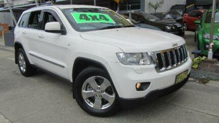 2012 Jeep Grand Cherokee WK MY12 Laredo (4x4) White 5 Speed Automatic Wagon