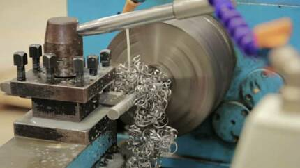 metal lathe and milling work done