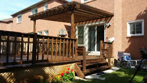 Woodwork / Fencing / Pergola / Shade Structure