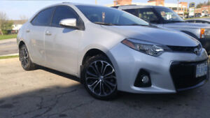 2014 Toyota Corolla S 6Speed With Extended Warranty