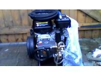 pressure washer v-tuff1 7hp petrol pressure washer brand new never been used.