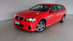 2011 Holden Commodore VE II SV6 Sportwagon Red 6 Speed Sports Automatic Wagon Hobart CBD Hobart City Preview
