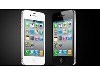 APPLE IPHONE 4S UNLOCKED IMMACULATE CONDITION COMES WITH SHOP WARRANTY AND RECEIPT