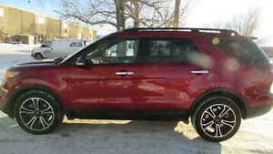 2014 Ford Explorer SPORT SUV, Crossover ECO BOOST