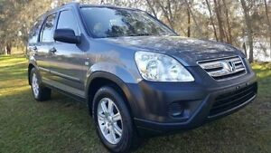 2006 Honda CR-V 2005 Upgrade (4x4) Grey 5 Speed Automatic Wagon Tuggerah Wyong Area Preview