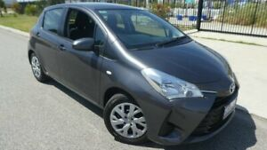 2017 Toyota Yaris NCP130R Ascent Titanium Grey 4 Speed Automatic Hatchback Broadwood Kalgoorlie Area Preview