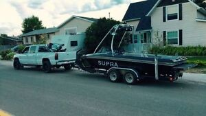 Supra Boat, built motor, trans and tower Speakers