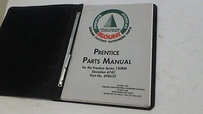 Prentice Hydro-ax 120rm Deviation 674c Parts Manual Ci227