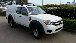 2010 Ford Ranger PK XL Super Cab Hi-Rider White 5 Speed Manual Cab Chassis Acacia Ridge Brisbane South West Preview